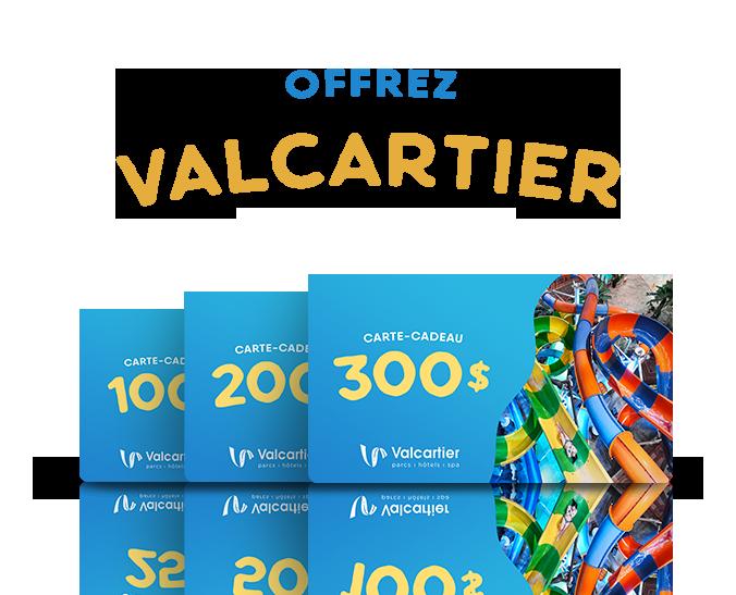Offrez Valcartier Pour noël